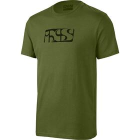 IXS Brand Tee T-Shirt Herren oliv